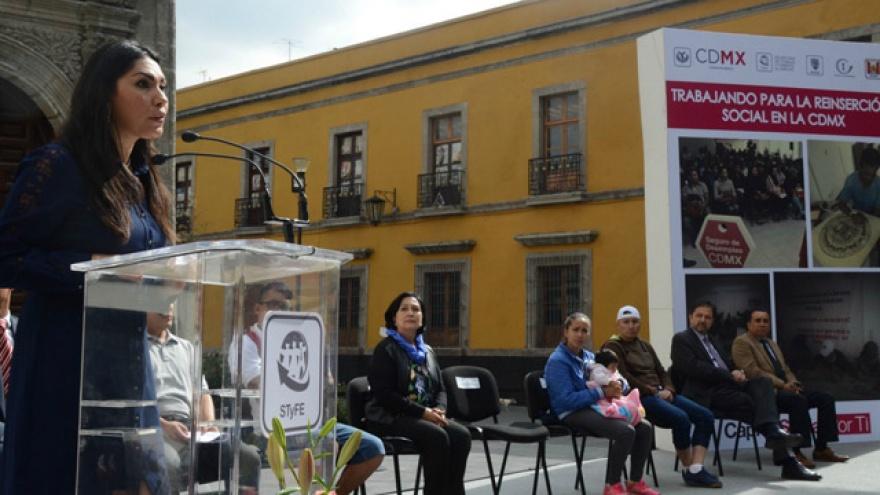 Entrega Gobierno CDMX seguro de desempleo a población liberada de Centros de Reclusión