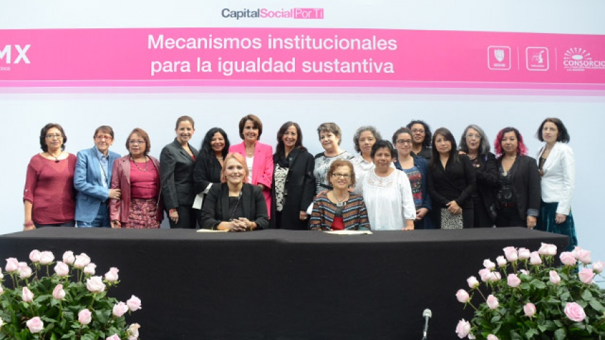 Impulsa Gobierno CDMX unidades de igualdad sustantiva entre hombres y mujeres