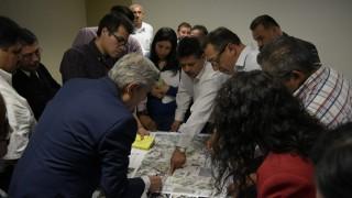 Avanza ejecución de proyecto de reordenamiento integral en eje 10 Sur