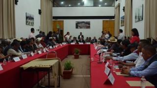 Secretaría de Gobierno presenta anteproyectos a representantes de núcleos agrarios de la capital