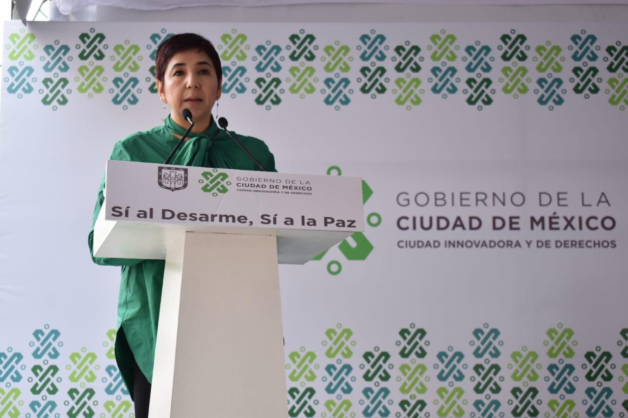 Sí Al Desarme Sí A La Paz Llega A Magdalena Contreras